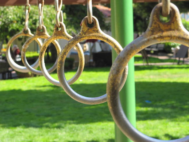 Rings on the playground