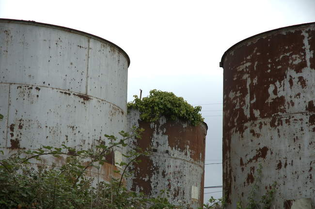 I think these are old water towers