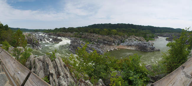 Overlook two at Great Falls Park