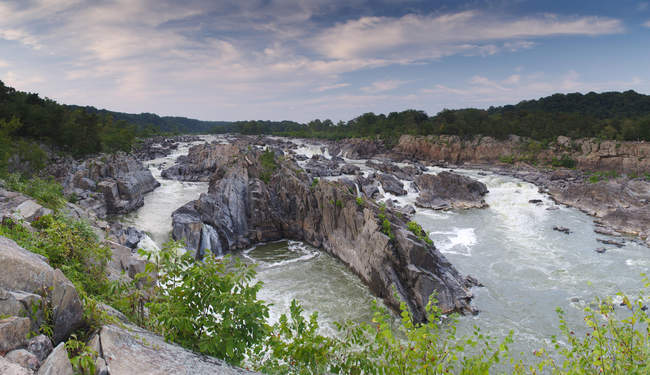 Overlook one at Great Falls Park