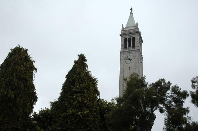 One of the main features of Berkeley - a tall clocktower